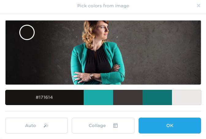 farben aus einem Bild manuell festlegen