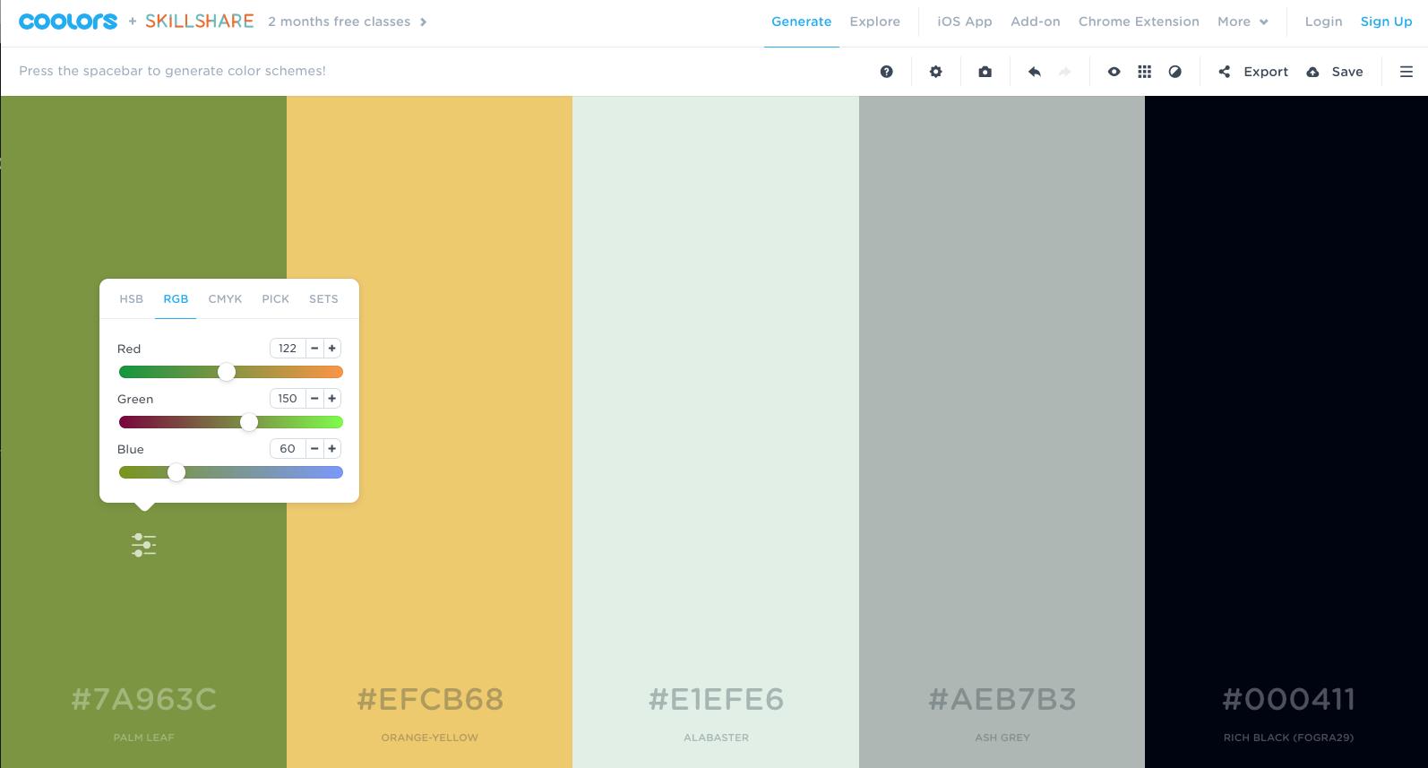 4 passende Farben zu deiner Farbe finden