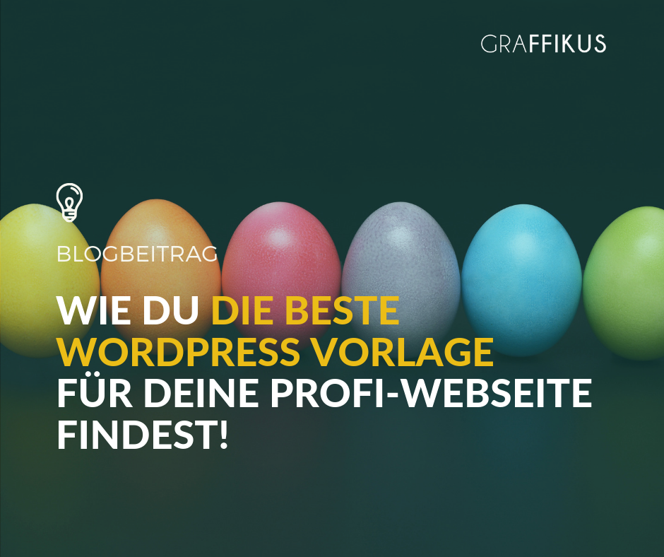 Wie du die beste Wordpress Vorlage findest