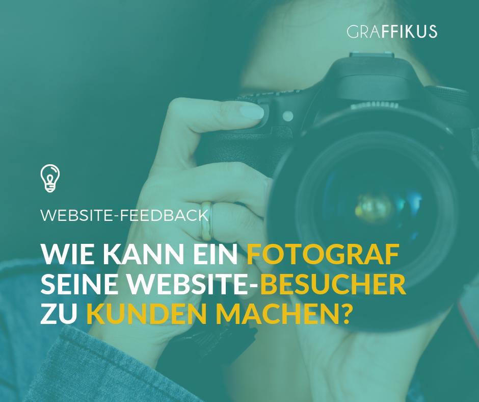 Als Fotograf Kunden gewinnen auf Website