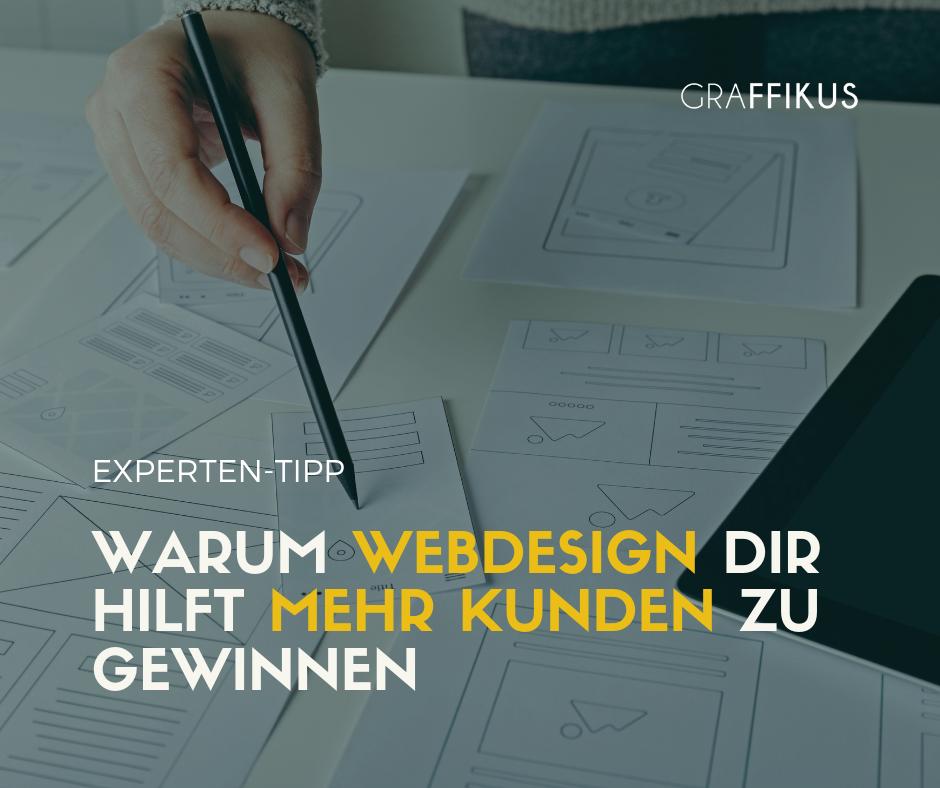 mehr kunden gewinnen mit webdesign