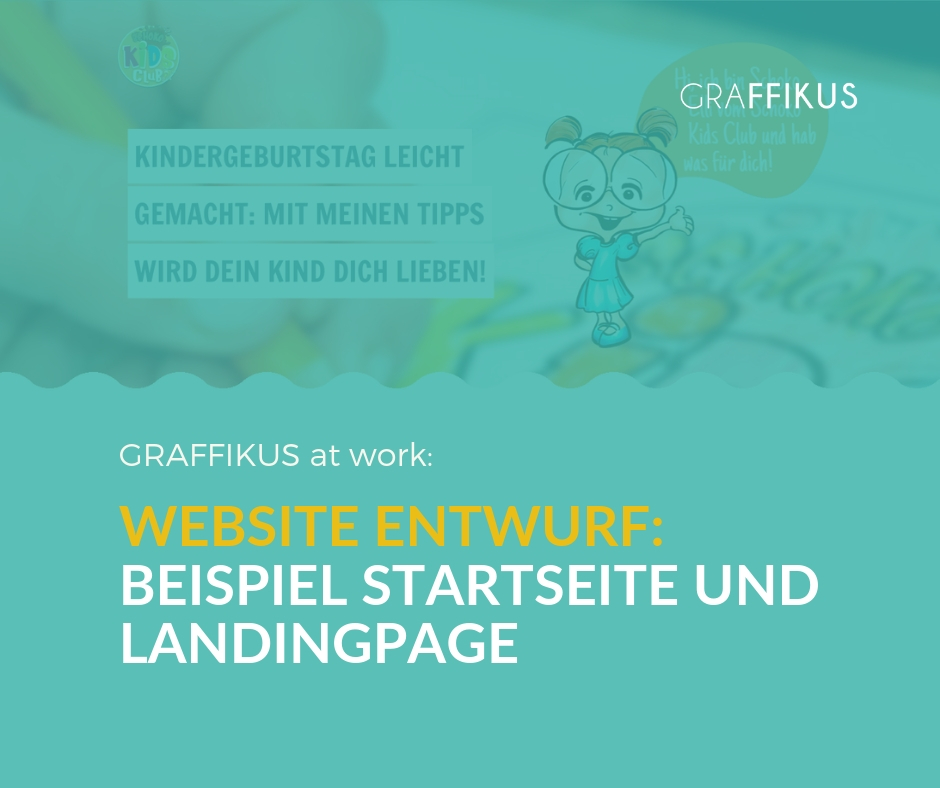 Entwurf einer Website