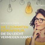 7 dümmsten Webdesign-Fehler