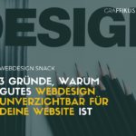 gutes design unverzichtbar fuer website