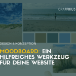 Moodboard: Werkzeug fuer Website